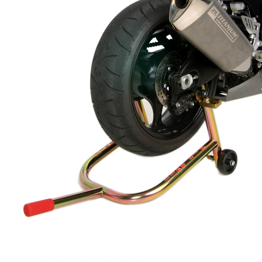 Spooled Rear, Motorcycle Stand