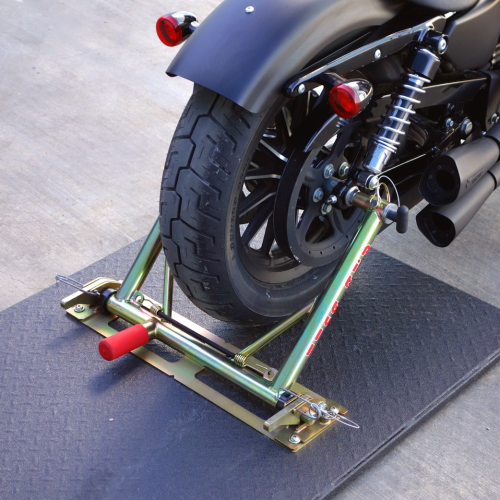 Trailer Restraint - Harley Sportster ('04 - '07) with aftermarket exhaust