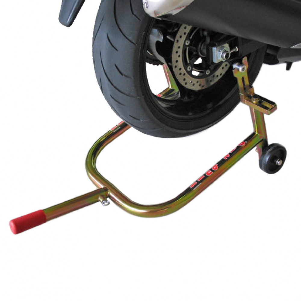 Fully Adjustable Rear, Motorcycle Stand (Spooled)