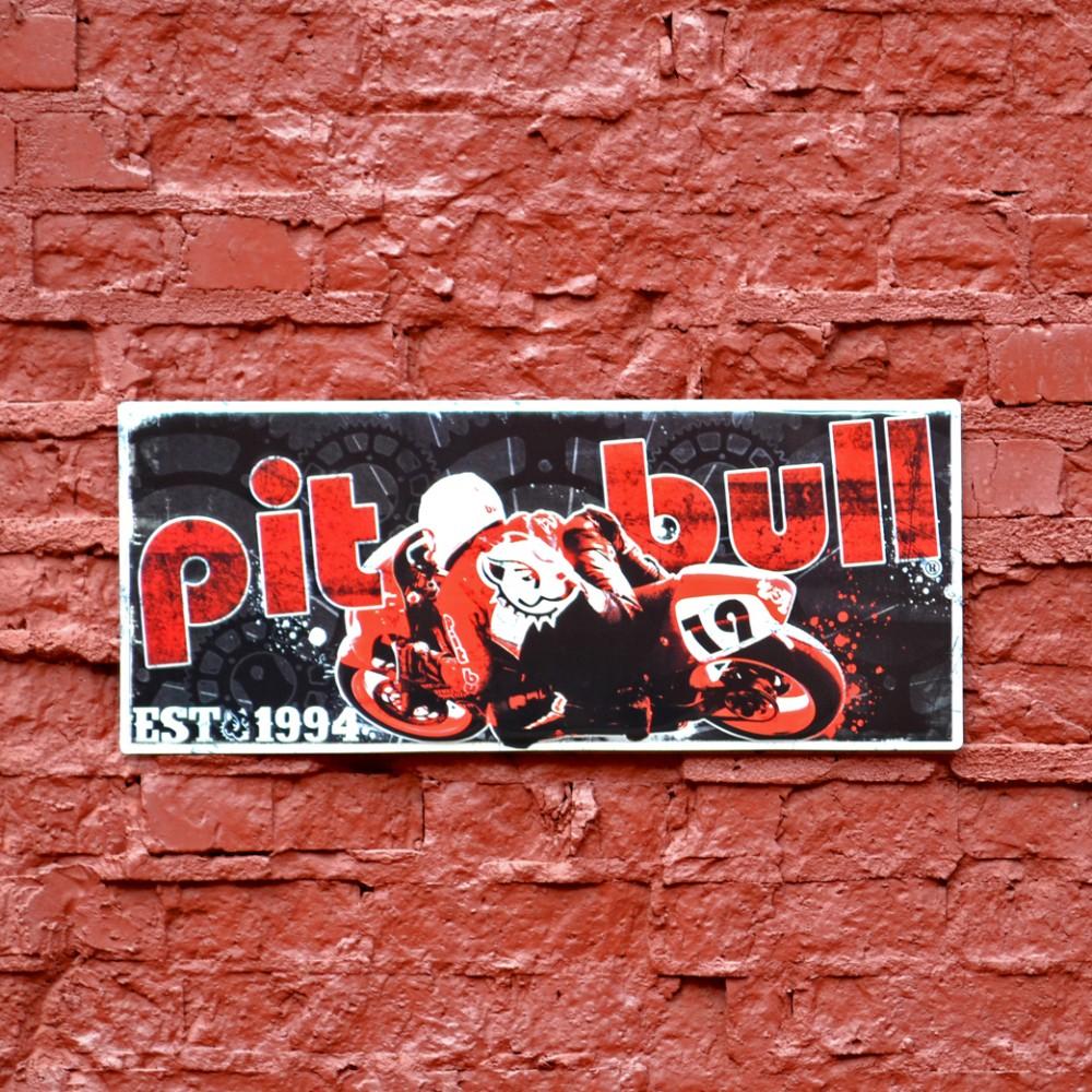Pit Bull Vintage Metal Sign