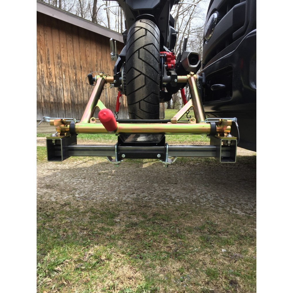 Trailer Restraint + Honda Grom + Trailer Hitch Carrier