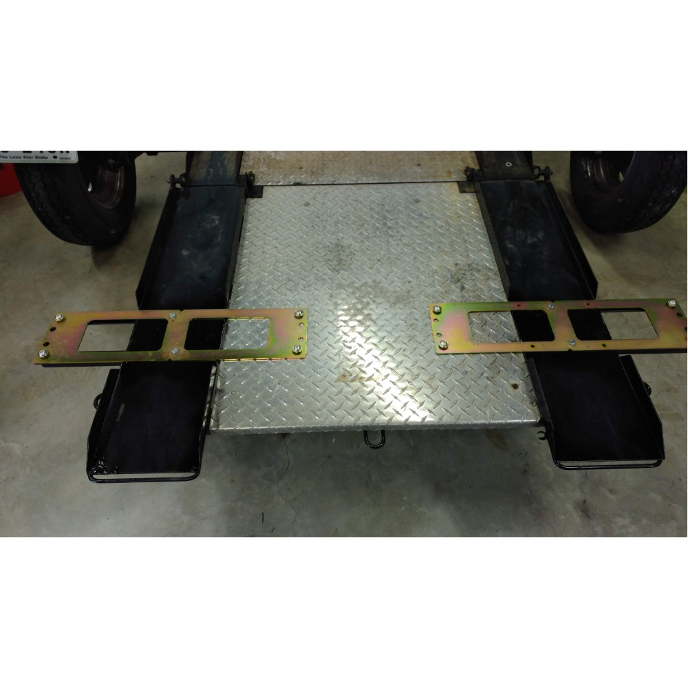 Pit Bull Trailer Restraint using JoeHauler and Kendon Trailer